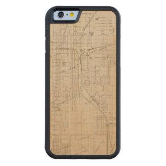 Plan of Terre Haute, Vigo Co Carved® Maple iPhone 6 Bumper Case