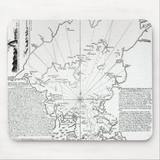 Plan of the Bay and Harbour of Rio de Janeiro Mouse Mat