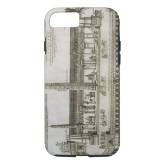 Plan of the Circus Maximus, Rome, engraved by the iPhone 7 Case