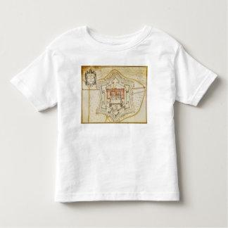 Plan of the citadel of Milan Toddler T-Shirt