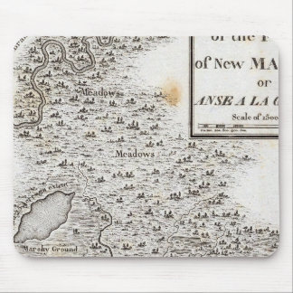 Plan of the Fort of New Madrid Mouse Pad