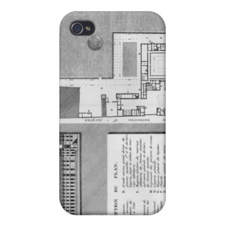 Plan of the Maternite Port-Royal iPhone 4/4S Cover