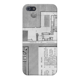 Plan of the Maternite Port-Royal iPhone 5/5S Cover