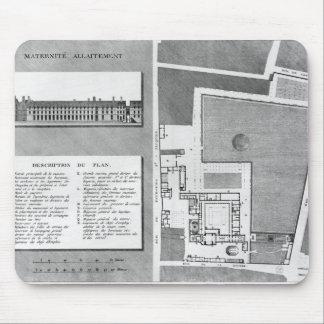 Plan of the Maternite Port-Royal Mouse Mat