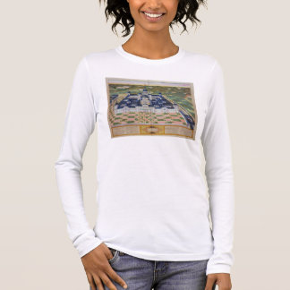 Plan of the Monastery of El Escorial, from 'Civita Long Sleeve T-Shirt