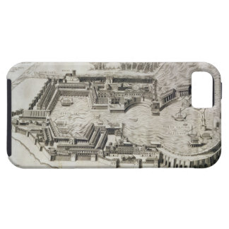 Plan of the port of Ostia Antica, engraved by the iPhone 5 Case