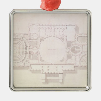 Plan of the Principal Story of the Capitol, Christmas Ornament
