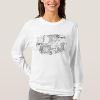 Plan of the Town and Harbour of Cartagena T-Shirt