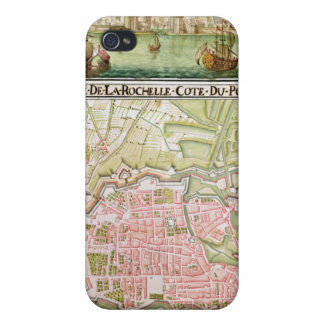 Plan of the town of La Rochelle, 1736 iPhone 4 Covers