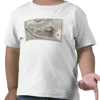Plan of the Town of Pittsburg Shirts