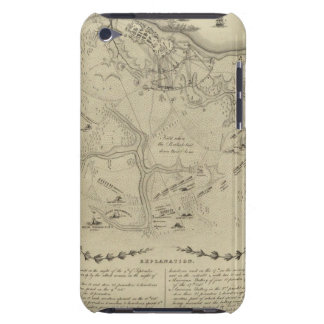 Plan of York Town In Virginia And Adjacent Country Barely There iPod Cases