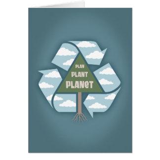 Plan-Plant-Planet Greeting Card