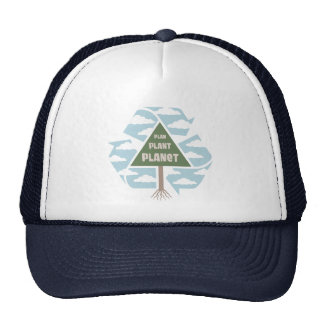 Plan-Plant-Planet Trucker Hats