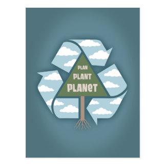 Plan-Plant-Planet Postcard