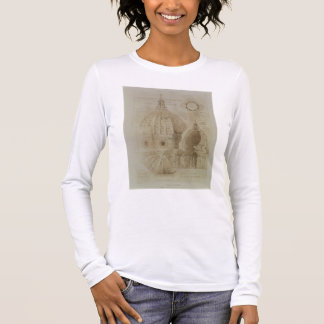 Plan, Section and Elevation of Florence Cathedral, Long Sleeve T-Shirt