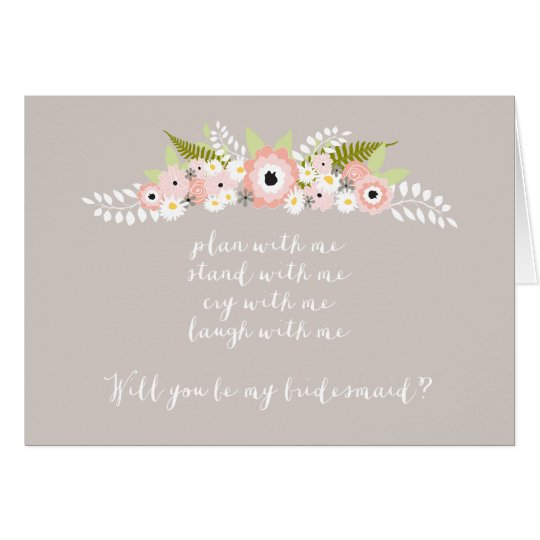 Plan with me Stand with me Floral Spray