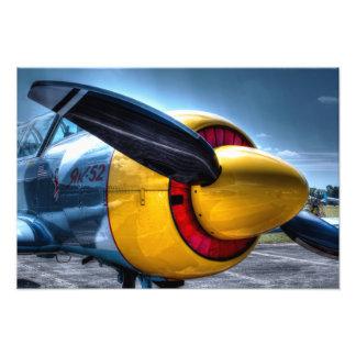 Plane 2 photographic print
