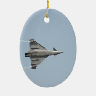 Plane Ceramic Oval Decoration