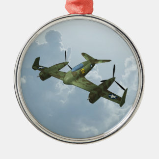 Plane Christmas Ornament