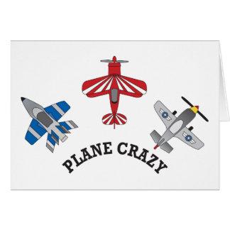 Plane Crazy Greeting Cards