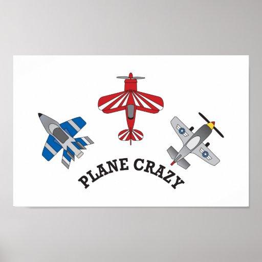 Plane Crazy Poster