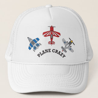 Plane Crazy Trucker Hat