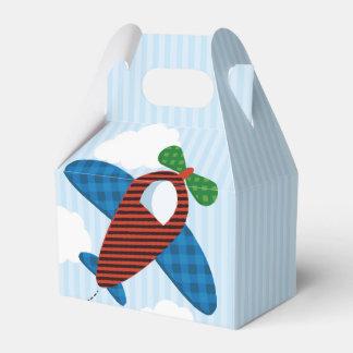 Plane favor box favour box
