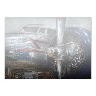 Plane - Hey fly boy 13 Cm X 18 Cm Invitation Card