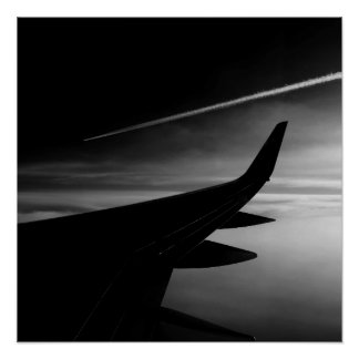 Plane in the Air Poster