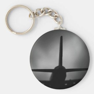 Plane Key Ring