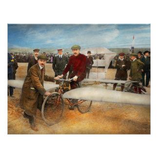 Plane - Odd - Easy as riding a bike 1912 21.5 Cm X 28 Cm Flyer
