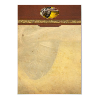 Plane - Pilot - Prop - Twin Wasp Card