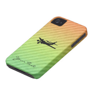 Plane silhouette Case-Mate iPhone 4 cases