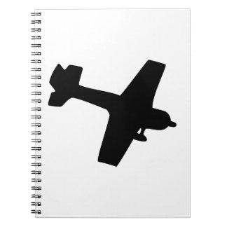 Plane Silhouette Notebooks