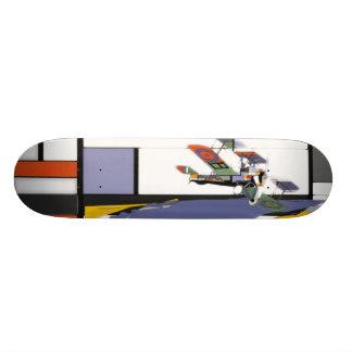 plane skateboard deck