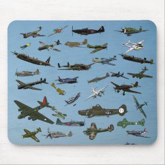 Plane Spotter Mouse Pad
