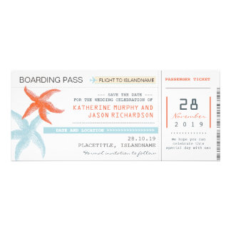 plane tickets boarding pass save the date design invitations