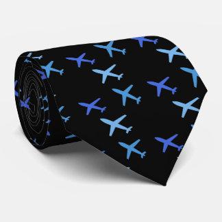 plane, tie