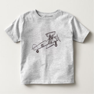 Plane Toddler T-Shirt Boy Shirt