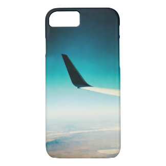 Plane Wing Over Nevada iPhone 7 Case