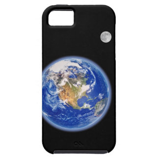 Planer Earth and Moon Tough iPhone 5 Case