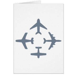 Planes 4 Folding Card