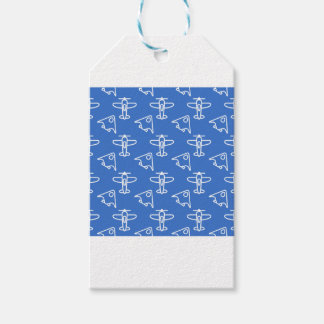Planes blue gift tags