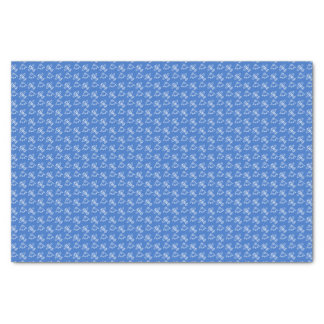 Planes blue tissue paper