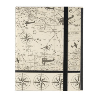 Planes Flight Path iPad Case