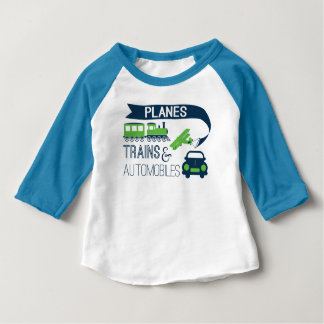 Planes Trains and Automobiles Kids Shirt