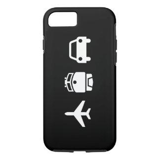 Planes/Trains/Automobiles Pictogram iPhone 7 Case
