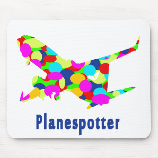 Planespotting Mouse Mat