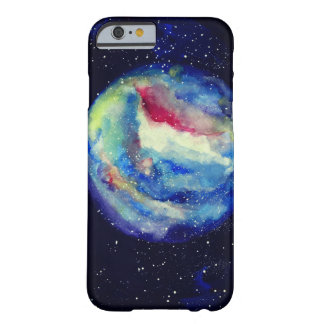 Planet Case, Watercolor Cosmos Art Barely There iPhone 6 Case