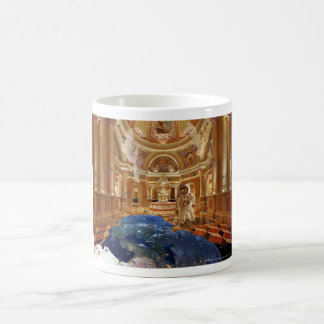 Planet cathedral, planet Cathedral Basic White Mug